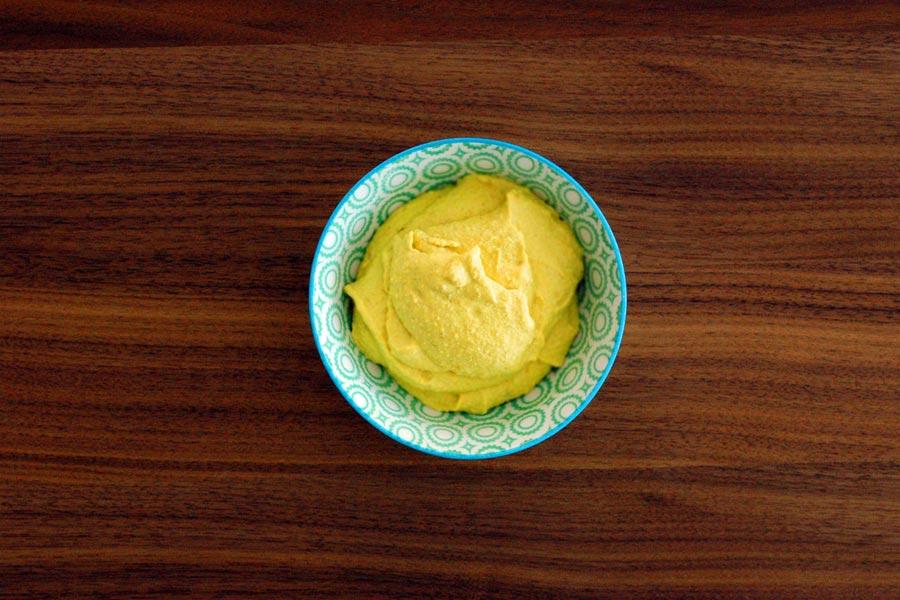 Gelbe Creme