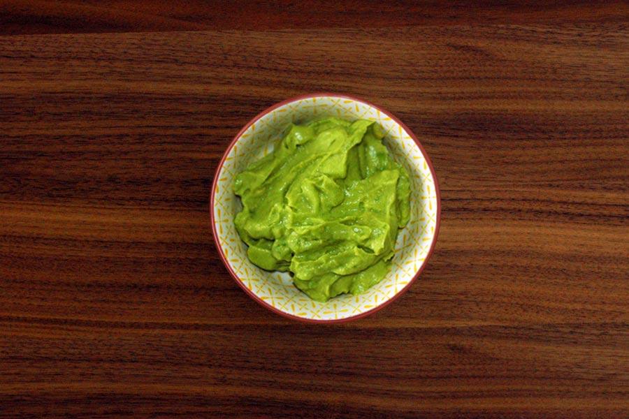 Grüne Creme