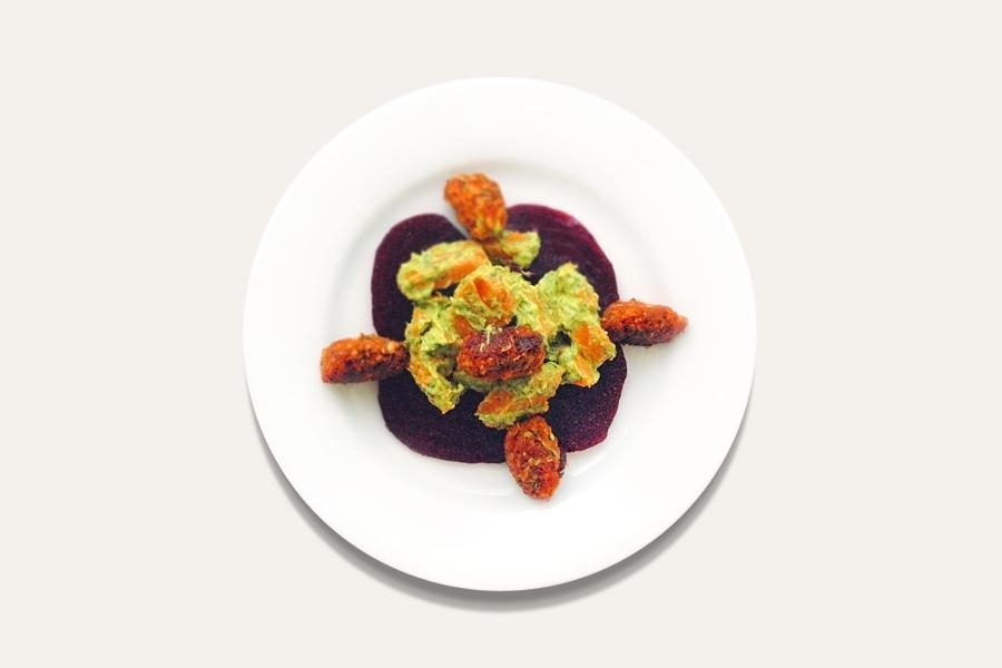 Süßkartoffel-Frühlingssalat