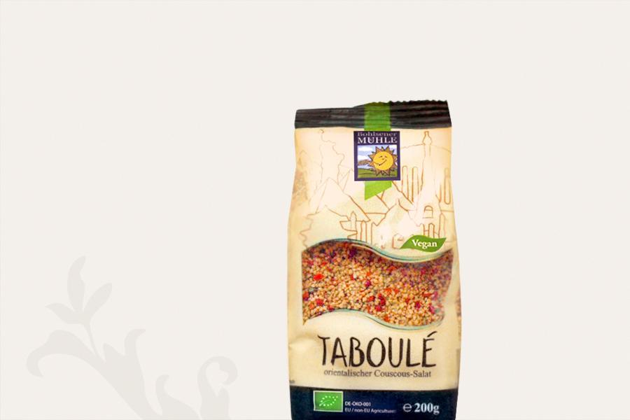 Taboulé mit Süßkartoffeln und Räuchertofu